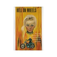 HELL ON WHEELS Rectangle Magnet (10 pack)