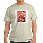 Vintage Knitter Ash Grey T-Shirt