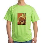 Vintage Knitter Green T-Shirt