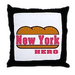 New York Hero Throw Pillow