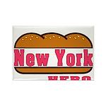 New York Hero Rectangle Magnet