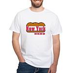 New York Hero White T-Shirt