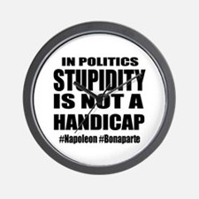 When Stupidity is OK Wall Clock