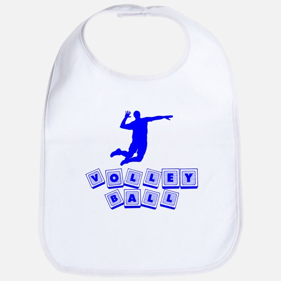 Volleyball Baby Blocks Bib