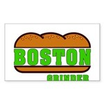 Boston Grinder Rectangle Sticker