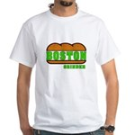 Boston Grinder White T-Shirt