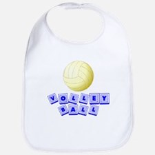 Volleyball Baby Blocks Bib