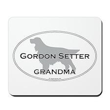 Gordon Setter GRANDMA Mousepad