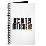 Likes To Play With Beads Journal