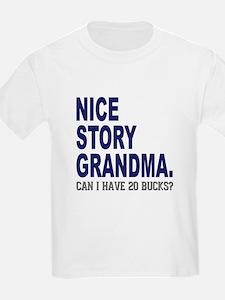 Nice Story Grandma T-Shirt