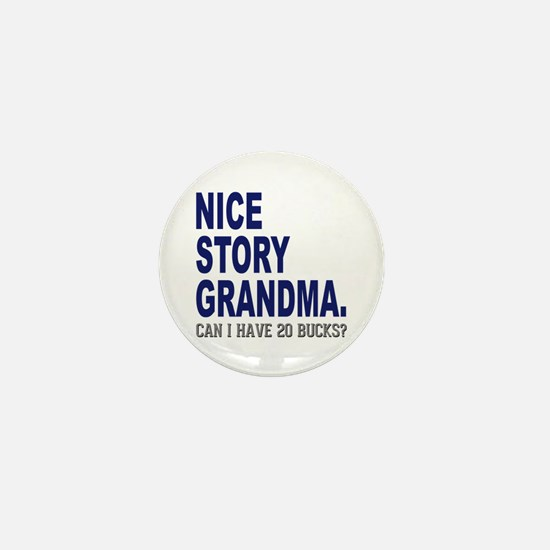 Nice Story Grandma Mini Button