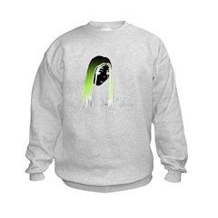 Gothic 'Trash' Sweatshirt