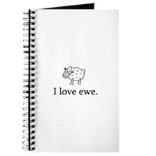 I Love Ewe Journal