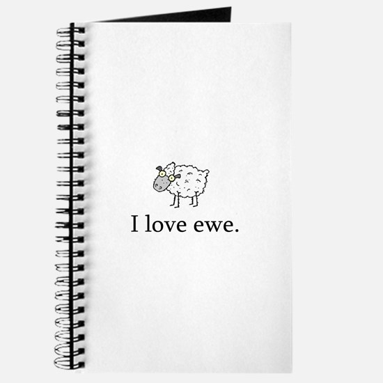 I Love Ewe Journal