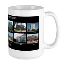 Mug- 12 Texas County Courthouses
