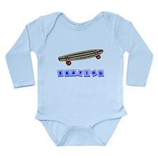 Skateboarding Baby Blocks Body Suit