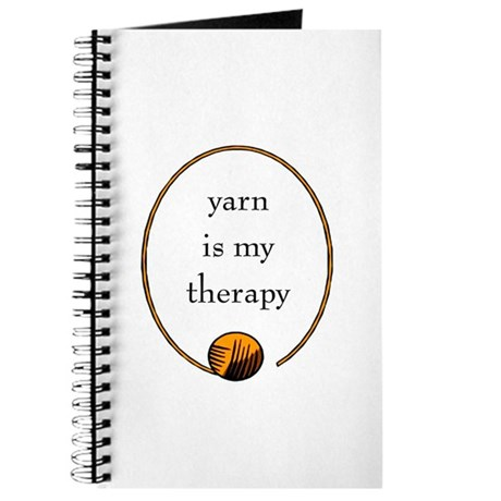 Yarn Is My Therapy Journal