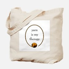 Yarn Is My Therapy Tote Bag