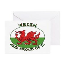 ...Welsh And Proud... Note Card (Pk of 10)