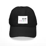 Yarn Lover Black Cap