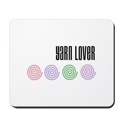 Yarn Lover Mousepad