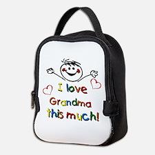 Grandma This Much Neoprene Lunch Bag