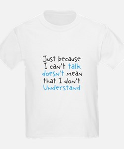 Autism Just Because T-Shirt