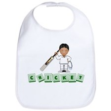 Cricket Baby Blocks Bib