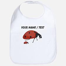 Custom Mother Ladybug Bib