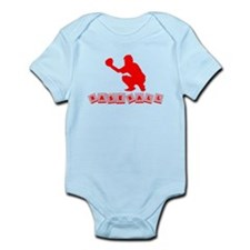 Baseball Baby Blocks Body Suit