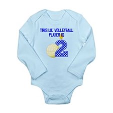 This Lil Volleyball Player Is Two Body Suit