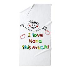 Nana This Much Beach Towel