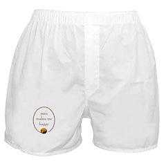 Yarn Makes Me Happy Boxer Shorts