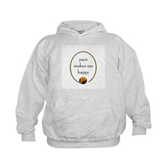 Yarn Makes Me Happy Hoodie
