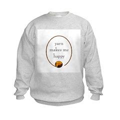 Yarn Makes Me Happy Sweatshirt