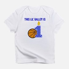 This Lil Baller Is One Infant T-Shirt