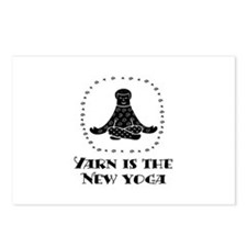 Yarn Is The New Yoga Postcards (Package of 8)