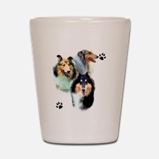 Collie Trio Shot Glass