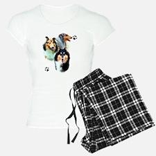 Collie Trio Pajamas