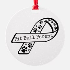 Pit Bull Parent Ornament