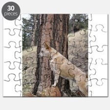 Red Heeler in Mountains Puzzle