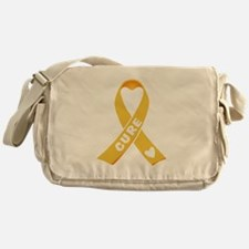 Go Gold Messenger Bag