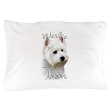 Westie Mom Pillow Case