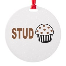Stud Muffin Ornament