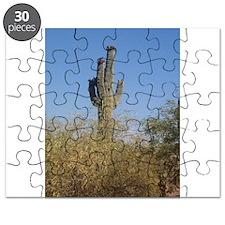 Saguaro Cactus Blooms Puzzle
