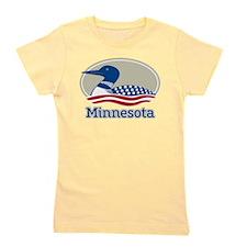 Proud Loon Minnesota Girl's Tee