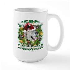 MerryChristmas Great Pyrenees Mugs