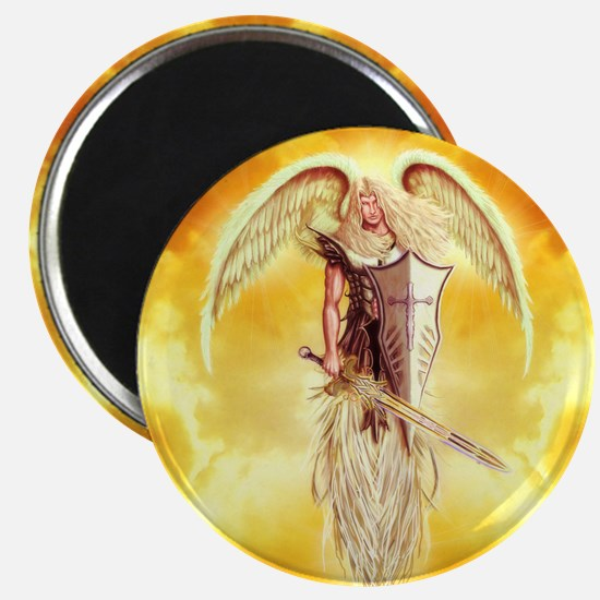 "Angel Michael 2.25"" Magnet (100 pack)"