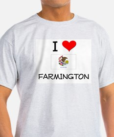 I Love FARMINGTON Illinois T-Shirt