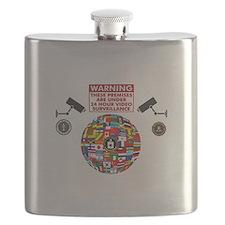 Premises under Surveillance Flask